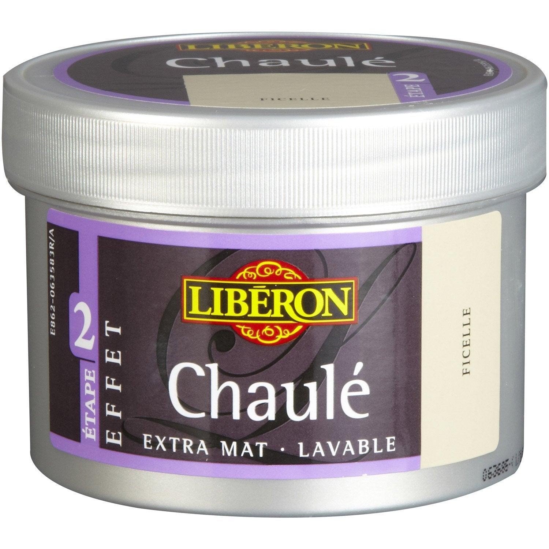 Peinture Effet Chaul Essuy Liberon Ficelle 0 25 L Leroy Merlin # Effet Ceruse Blanc