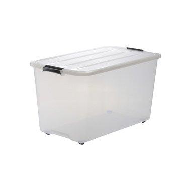 Boîte Top box plastique , l.39 x P.68 x H.38.5 cm