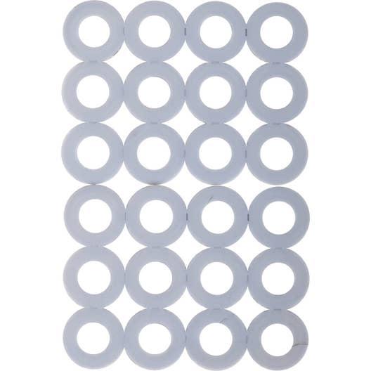 lot de 24 rondelles en plastique haute densit ptfe 3m