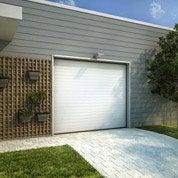 Porte de garage sectionnelle Corfou H.200 x l.240 cm