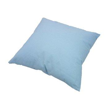 Coussin Sunny INSPIRE, bleu glacier l.40 x H.40 cm