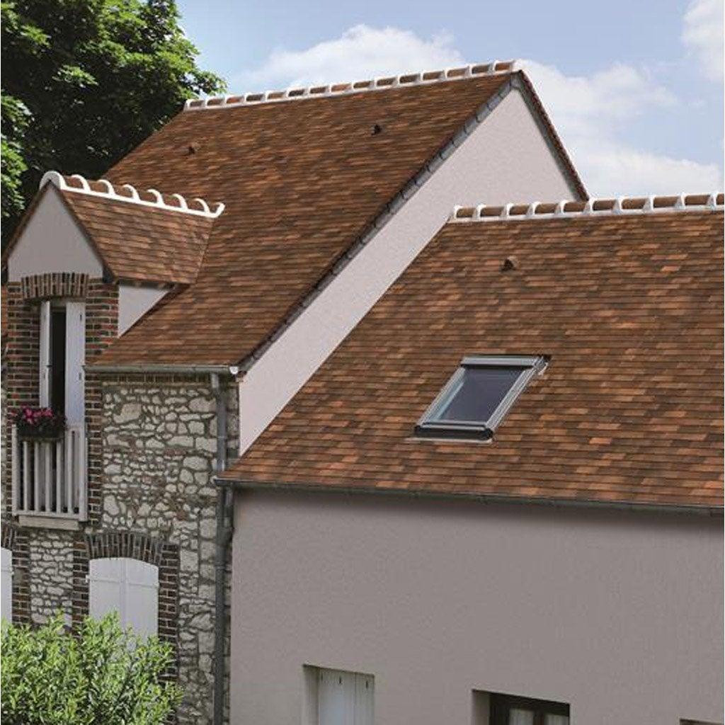 Amazing Tuile Monier Terre De Chne With Couvrir Une Terrasse Avec Des Tuiles .