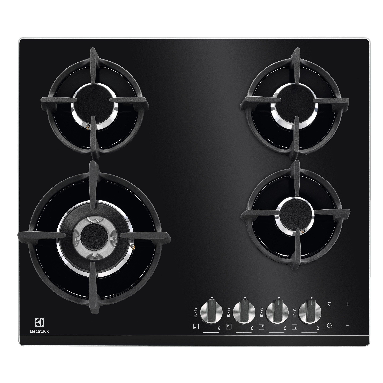 Hauteur De Hotte Pour Gaz plaque de cuisson gaz 4 foyers, electrolux kgg6438k