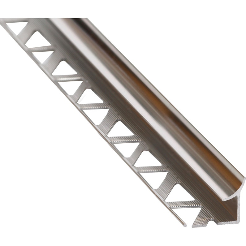 Profil Détanchéité Mur Et Sol Gris Brillant Aluminium L250 Cm X Ep8 Mm