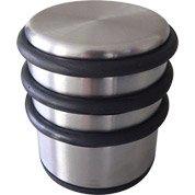 Bloque-porte acier inoxydable brillant H.7 x L.6.7 x Diam.6.7 cm