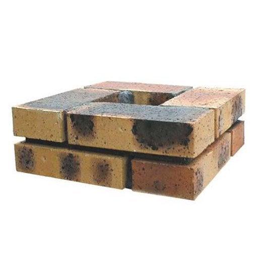 el ment de pilier brique plat x x cm leroy merlin. Black Bedroom Furniture Sets. Home Design Ideas