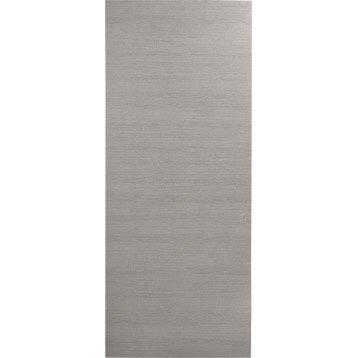 Porte coulissante revêtu décor chêne fumé Londres, 204 x 83 cm
