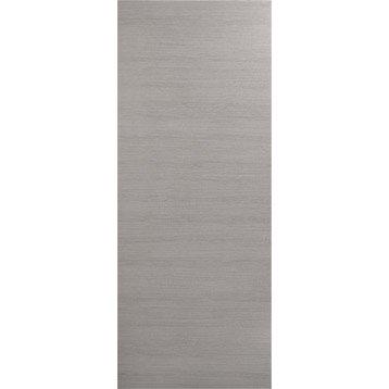 Porte coulissante revêtu décor chêne fumé Londres, 204 x 73 cm