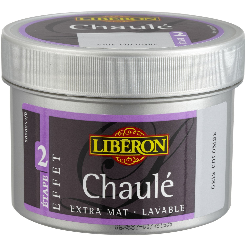 Peinture Effet Chaul Essuy Liberon Gris Colombe 0 25 L  # Peinture Gris Ceruse