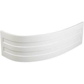 Tablier de baignoire L.160x l.90 cm blanc Nerea