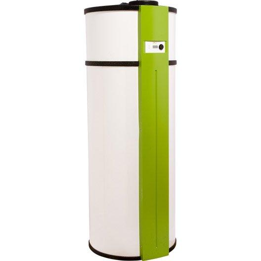 Chauffe eau thermodynamique all green haute performance 270 l leroy merlin - Prix chauffe eau thermodynamique ...