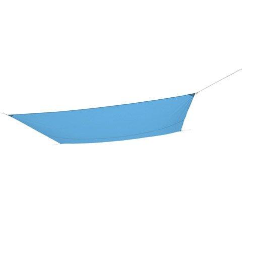 voile d 39 ombrage rectangulaire bleu atoll 1 x cm leroy merlin. Black Bedroom Furniture Sets. Home Design Ideas