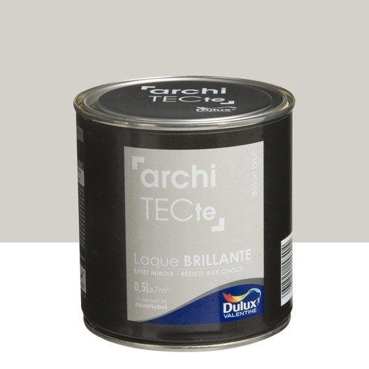 peinture gris b ton brut dulux valentine architecte 0 5 l leroy merlin. Black Bedroom Furniture Sets. Home Design Ideas