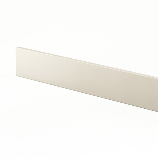 plinthe de cuisine ivoire karrey l 270 x h 15 cm leroy merlin. Black Bedroom Furniture Sets. Home Design Ideas