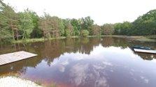 Chauffage géothermique à l'étang
