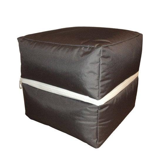 pouf et poire coussin plaid et pouf leroy merlin. Black Bedroom Furniture Sets. Home Design Ideas