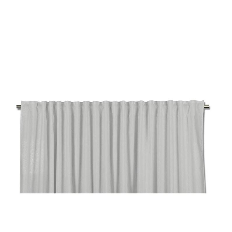 Rideau tamisant grande largeur, Neo, gris, l.260 x H.140 cm | Leroy ...