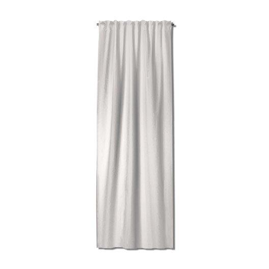 rideau grande hauteur neo lin x cm leroy merlin. Black Bedroom Furniture Sets. Home Design Ideas