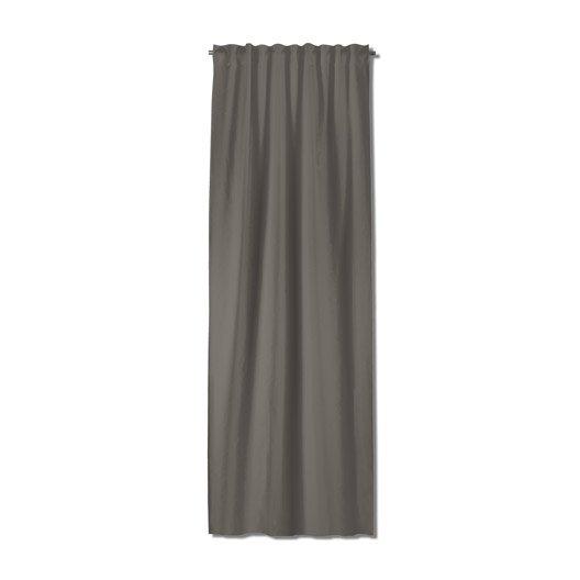 rideau tamisant grande hauteur neo gris fonc x cm leroy merlin. Black Bedroom Furniture Sets. Home Design Ideas