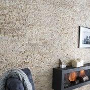 Plaquette de parement pierre naturelle beige Canyon