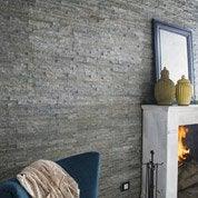 Plaquette de parement pierre naturelle gris Magrit
