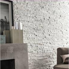 plaquette de parement pierre naturelle noir ultra leroy merlin. Black Bedroom Furniture Sets. Home Design Ideas