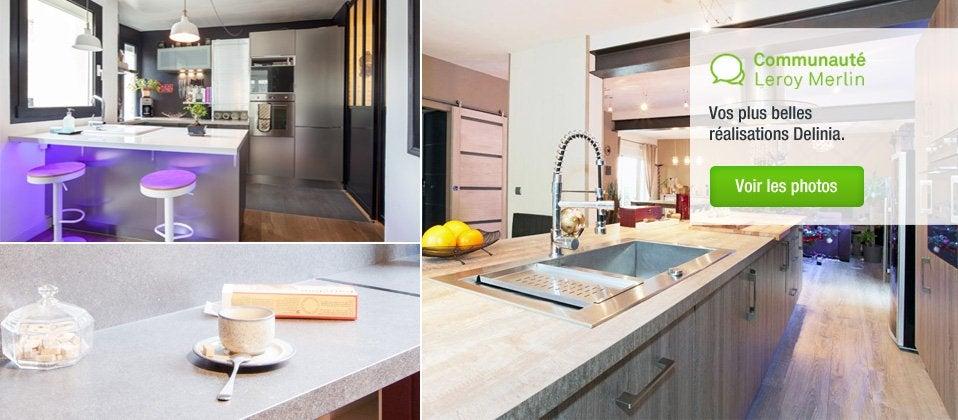 Dimension Meuble De Cuisine Leroy Merlin  Image Sur Le Design Maison