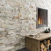 Plaquette de parement pierre naturelle beige Elegance