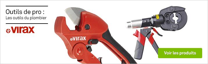 Les outis du plombier VIRAX