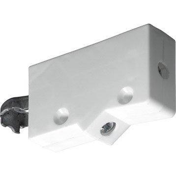 Lot de 2 suspensions pour meuble haut plastique brut HETTICH, l.62 mm