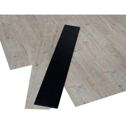 lame pvc clipsable bois effet pin premium clic 5g leroy. Black Bedroom Furniture Sets. Home Design Ideas