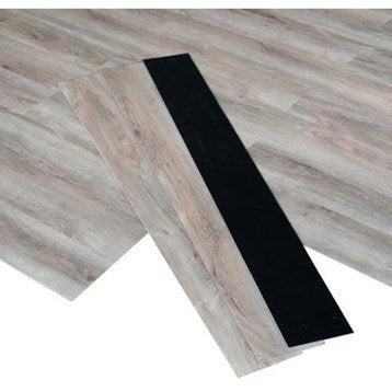 Lame PVC clipsable chêne clair chêne clair Premium clic 5g