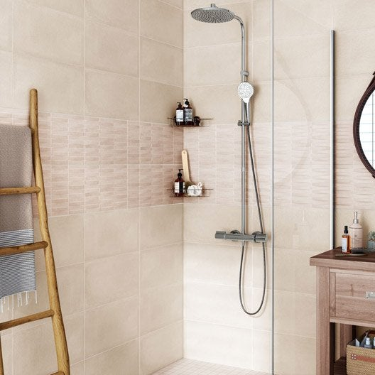 Excellent Carrelage Salle De Bain Beige Images  Best Image Engine