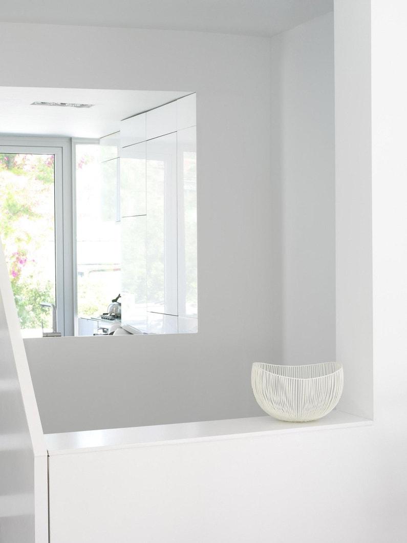 Peinture Blanche Dulux Valentine peinture matin blanc satin dulux valentine crème de couleur 2.5 l