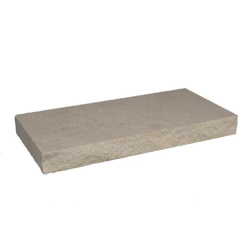 couvre mur plat pierre de provence imitation pierre blanc h 5 x x cm leroy merlin. Black Bedroom Furniture Sets. Home Design Ideas