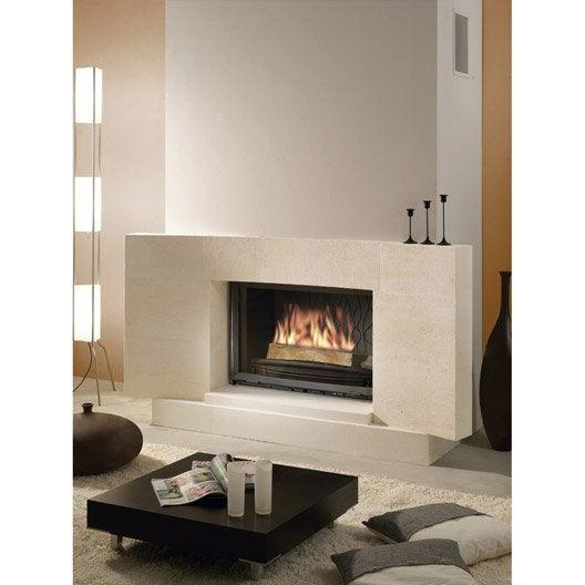 habillage de chemin e en pierre neuvilette leroy merlin. Black Bedroom Furniture Sets. Home Design Ideas