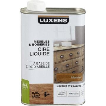 cire liquide meuble et objets luxens l merisier good f meubles linas