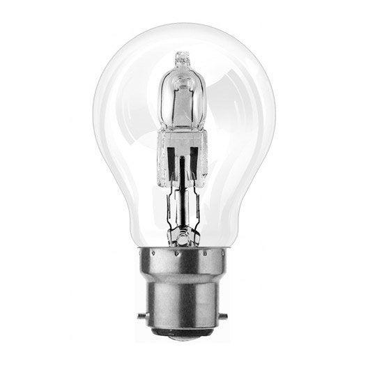 Ampoule standard halog ne 46w osram b22 lumi re chaude - Ampoule lumiere du jour leroy merlin ...