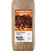Granulés de bois GERMAN PELLETS en sac, 15 kg