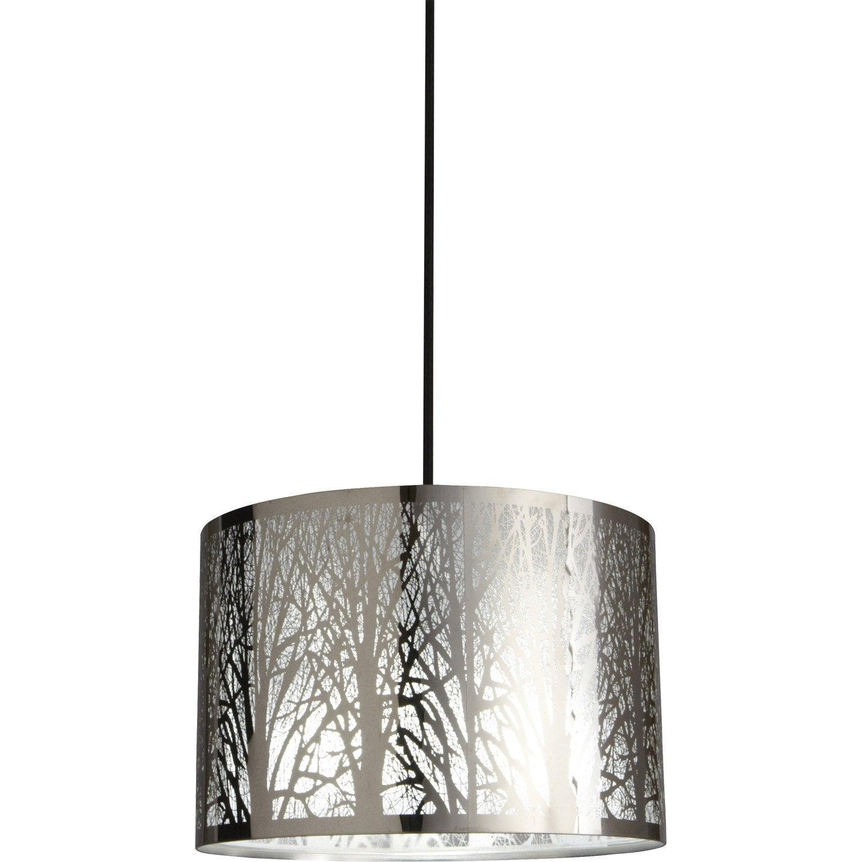 Suspension Moderne Forest métal noir 1 x 60 W INSPIRE