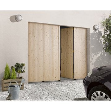 porte de garage pliante ouverture la fran aise porte de garage bois ou aluminium leroy merlin. Black Bedroom Furniture Sets. Home Design Ideas