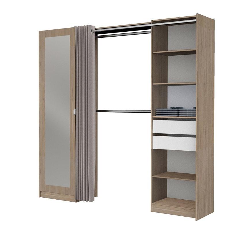 kit dressing profondeur 40 cm. Black Bedroom Furniture Sets. Home Design Ideas