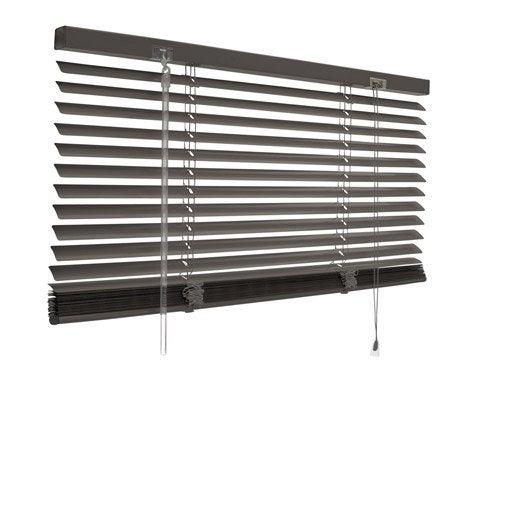 Store v nitien aluminium gris gris n 1 x cm - Store venitien exterieur aluminium ...