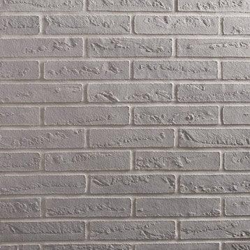 Plaquette de parement Elastolith en Qqartz, gris clair