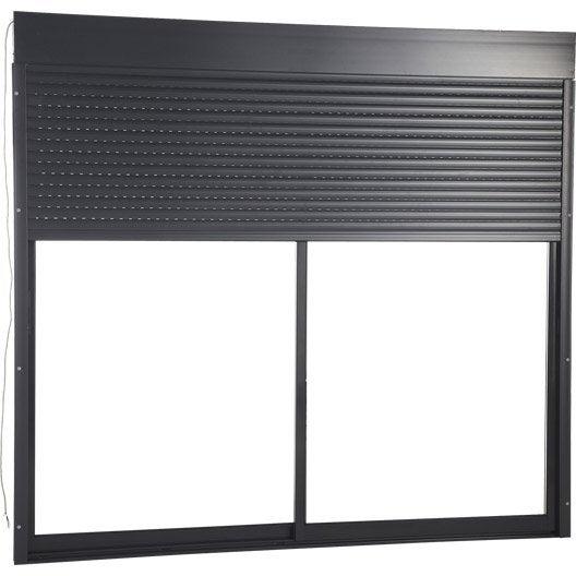 volet roulant motoris radio artens aluminium isol x cm leroy merlin. Black Bedroom Furniture Sets. Home Design Ideas