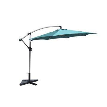 parasol excentr florence naterial bleu atoll 7 m. Black Bedroom Furniture Sets. Home Design Ideas