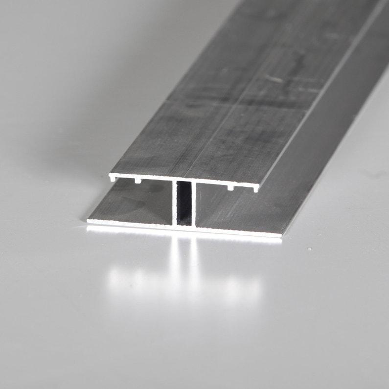 Profil Jonction Pour Plaque Ep 16 Mm Aluminium L 4 M