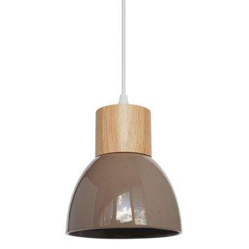 Suspension, e14 design Wilma céramique chanvre 1 x 40 W SEYNAVE