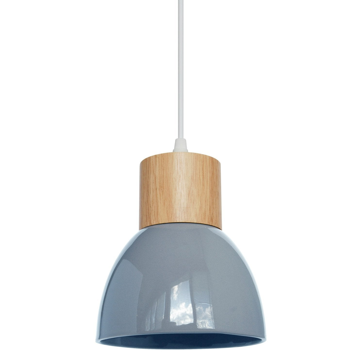 Suspension, e14 design Wilma céramique bleu 1 x 40 W SEYNAVE