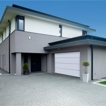 Porte de garage sectionnelle basculante porte de garage avec portillon au meilleur prix - Porte de garage sectionnelle 200 300 ...